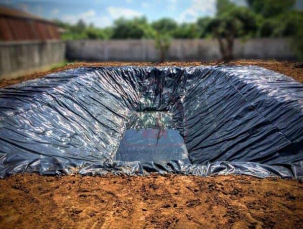 พลาสติกปูบ่อน้ำ PE เกรด A ยอดนิยม (Pond Liner)