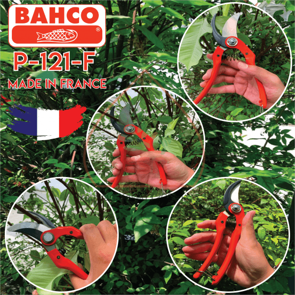กรรไกรแต่งกิ่ง BAHCO รุ่น P121