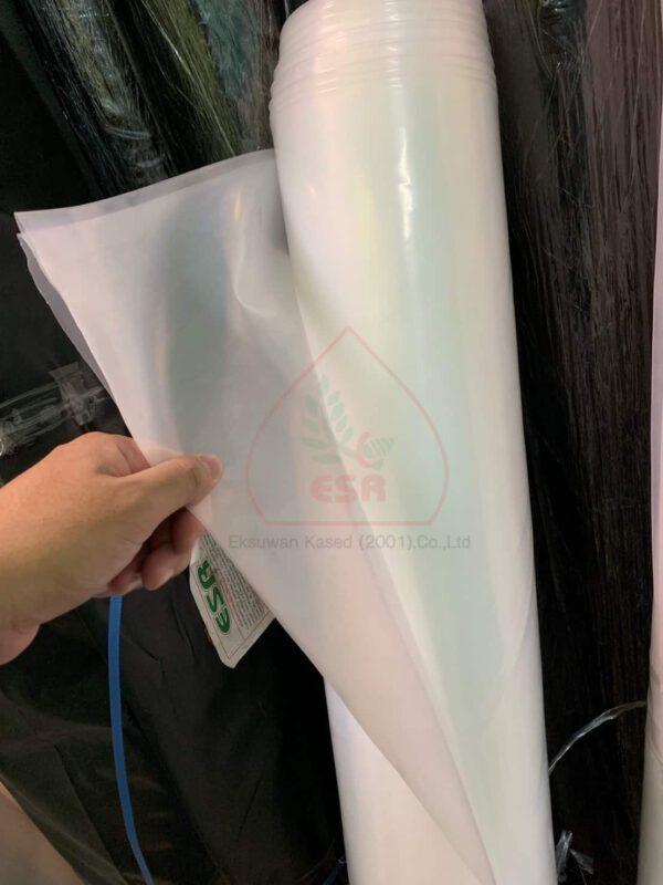 พลาสติกโรงเรือนใส UV พิเศษ ขนาดพิเศษ ความกว้างกว้างเกิน 8 ม