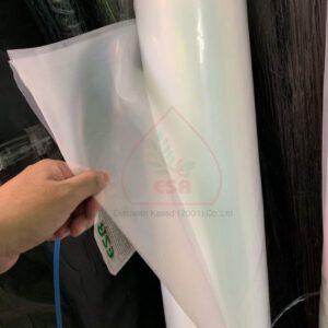 พลาสติกคลุมโรงเรือนใส UV 7% (แบบม้วน)